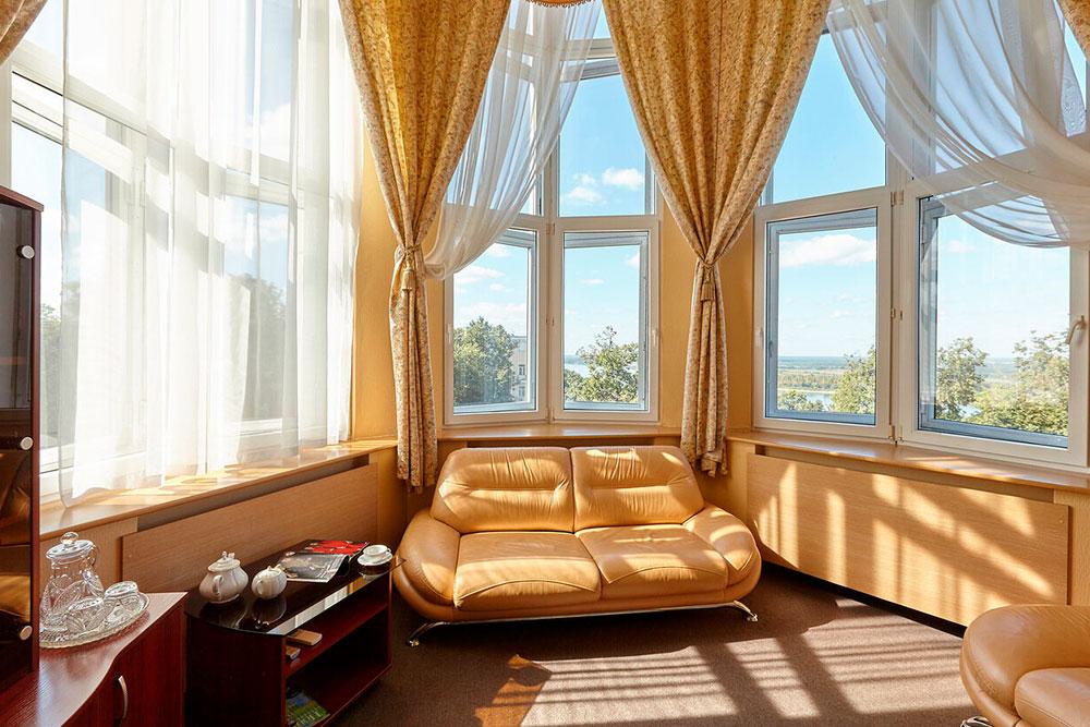 Панорамный вид из апартаментов